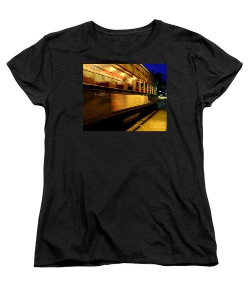 New Orleans Saint Charles Avenue Street Car In  Louisiana #7 Women's T-Shirt (Standard Cut) by Michael Hoard
