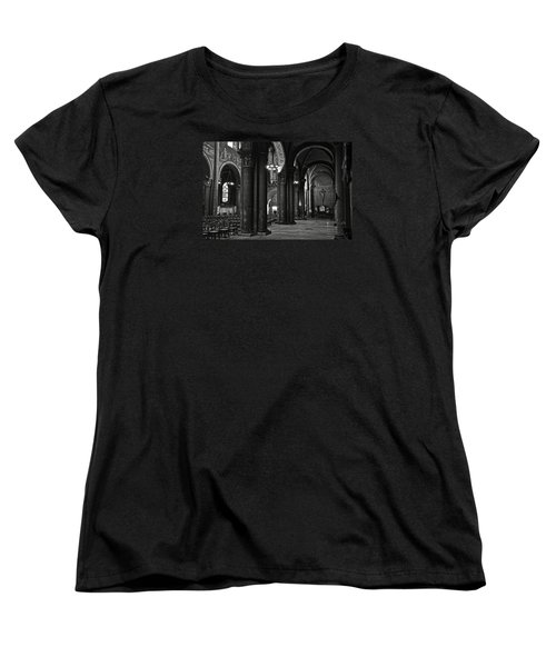 Saint Germain Des Pres - Paris Women's T-Shirt (Standard Cut) by RicardMN Photography