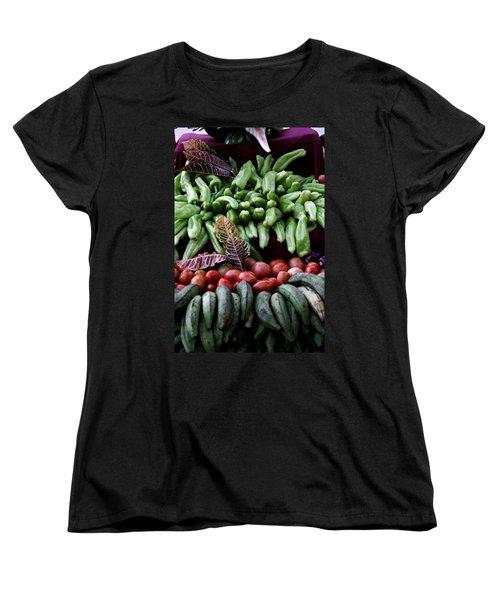 Salad Fixings Women's T-Shirt (Standard Cut) by Mustafa Abdullah