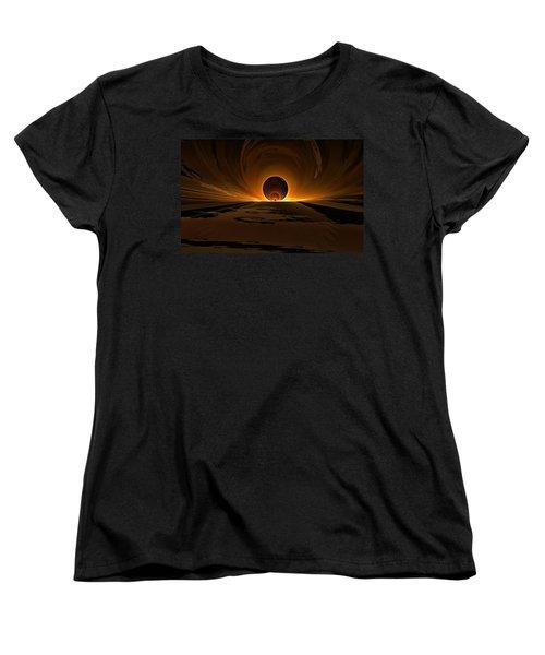 Salsa Sunrise Women's T-Shirt (Standard Cut) by GJ Blackman