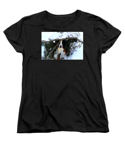 Sam And His Fort Women's T-Shirt (Standard Cut) by Patti Whitten