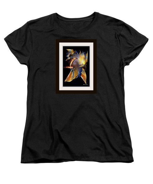 Women's T-Shirt (Standard Cut) featuring the painting Samurai by Rafael Salazar