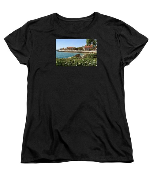 Women's T-Shirt (Standard Cut) featuring the photograph San Diego Cute Place by Jasna Gopic