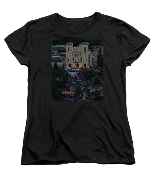 San Fernando Cathedral 001 Women's T-Shirt (Standard Cut) by Shawn Marlow