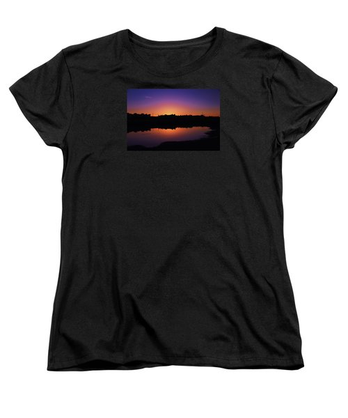 Women's T-Shirt (Standard Cut) featuring the photograph San Francisco Daze by Sean Sarsfield