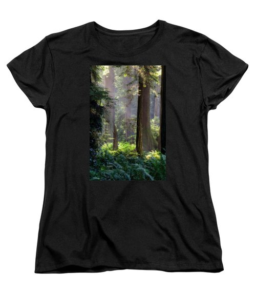 Sanctuary Women's T-Shirt (Standard Cut) by Mark Alder
