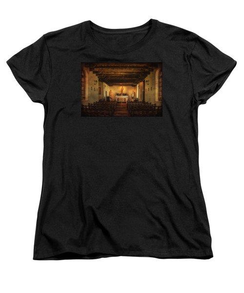 Women's T-Shirt (Standard Cut) featuring the photograph Sanctuary by Priscilla Burgers
