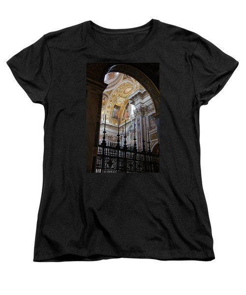 Santa Maria Maggiore Women's T-Shirt (Standard Cut) by Debi Demetrion