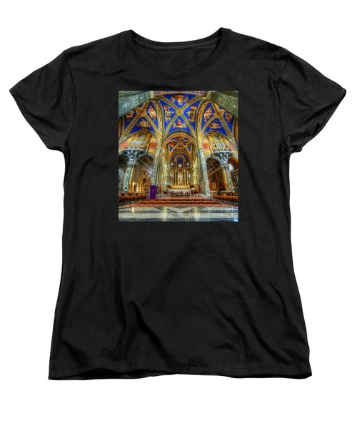 Santa Maria Sopra Minerva 2.0 Women's T-Shirt (Standard Cut) by Yhun Suarez
