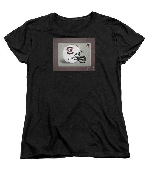 S.c. Gamecocks T-shirt Women's T-Shirt (Standard Cut) by Herb Strobino