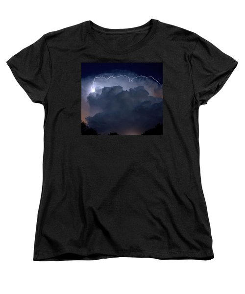 Women's T-Shirt (Standard Cut) featuring the photograph Scalloped Edge by Charlotte Schafer