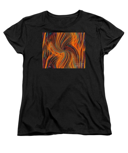 Women's T-Shirt (Standard Cut) featuring the painting Schiller's Dream Of You by Yul Olaivar