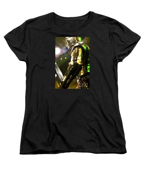 Screen Worn C3p0 Costume Women's T-Shirt (Standard Cut) by Micah May