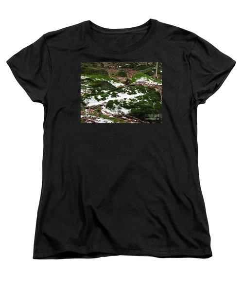 Sea Of Green Women's T-Shirt (Standard Cut) by Michael Krek