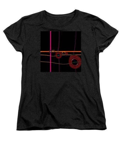 Seance Saturday Women's T-Shirt (Standard Cut) by Wendy J St Christopher