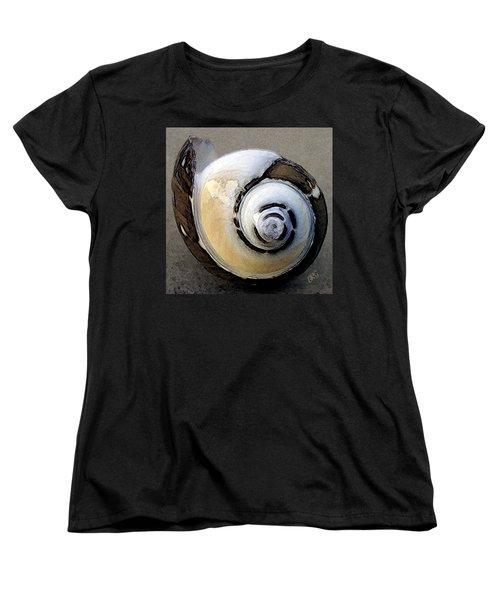 Seashells Spectacular No 3 Women's T-Shirt (Standard Cut) by Ben and Raisa Gertsberg