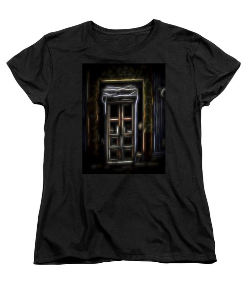 Secret Doorway Women's T-Shirt (Standard Cut) by William Horden