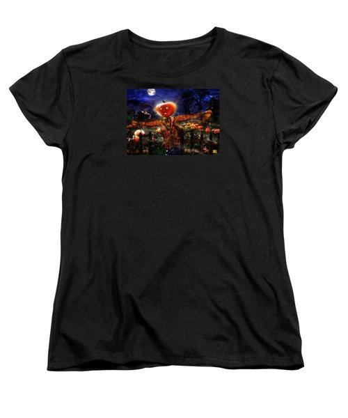 Secrets Of The Night Women's T-Shirt (Standard Cut) by Alessandro Della Pietra