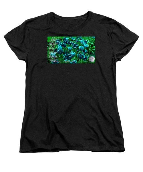 Seek My Face Women's T-Shirt (Standard Cut)