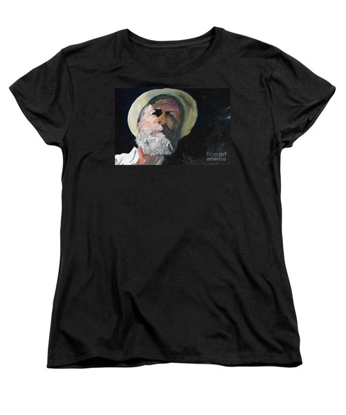 Women's T-Shirt (Standard Cut) featuring the painting Self Portrait  by Brian Boyle