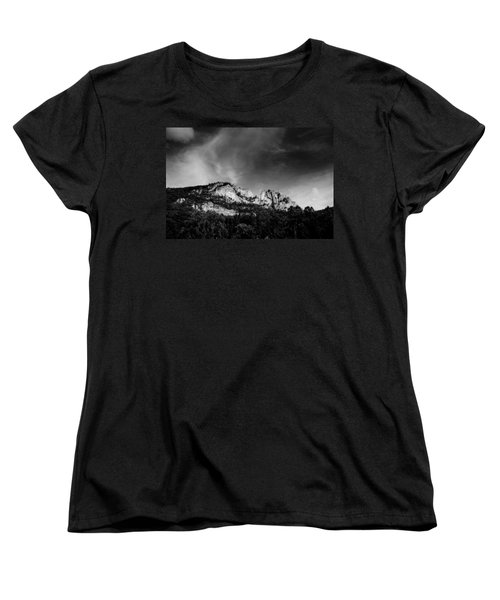 Seneca Rocks Women's T-Shirt (Standard Cut) by Shane Holsclaw
