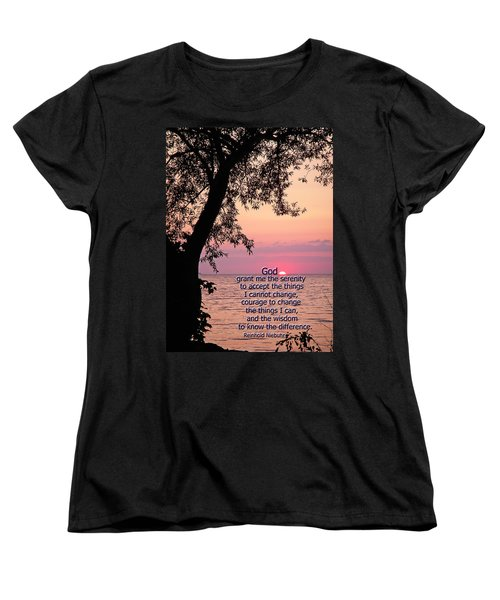 Women's T-Shirt (Standard Cut) featuring the photograph Serenity by Aimee L Maher Photography and Art Visit ALMGallerydotcom