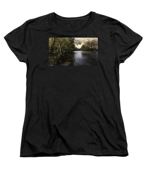 Women's T-Shirt (Standard Cut) featuring the photograph Serenity by Lynn Geoffroy