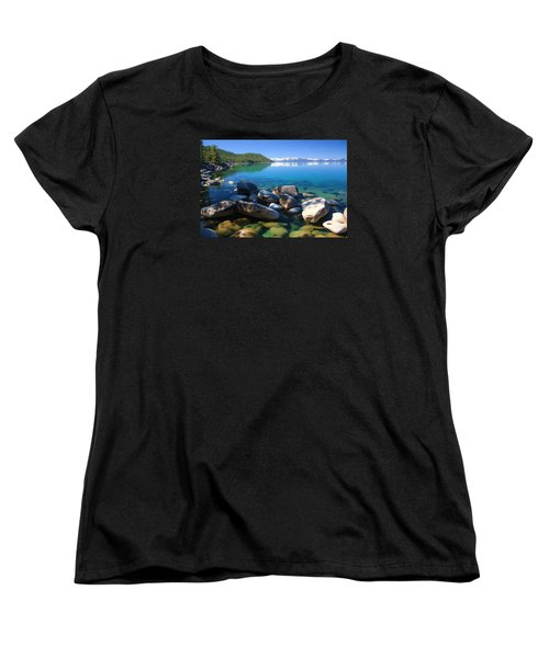 Women's T-Shirt (Standard Cut) featuring the photograph Serenity by Sean Sarsfield