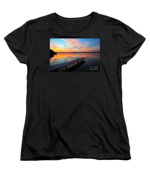 Women's T-Shirt (Standard Cut) featuring the photograph Serenity by Terri Gostola