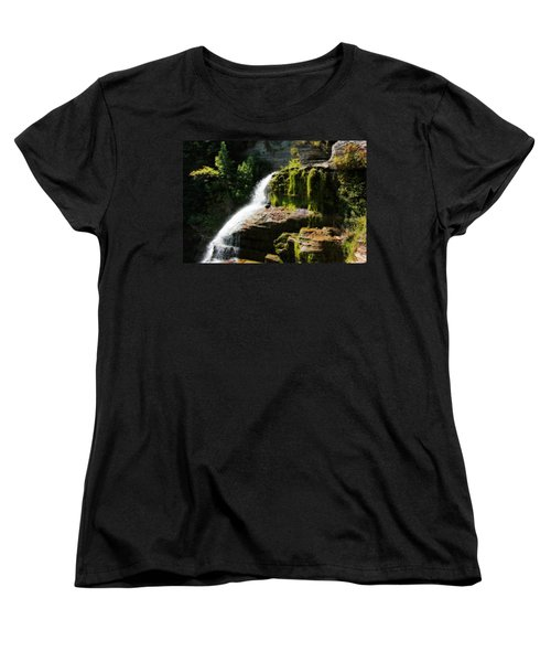Women's T-Shirt (Standard Cut) featuring the photograph Serenity by Trina  Ansel