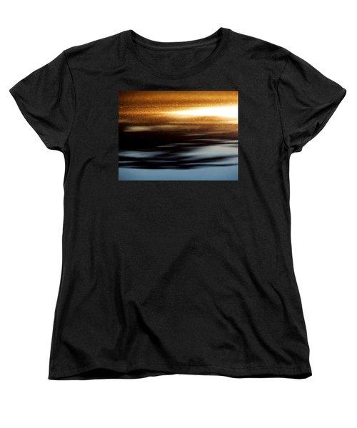 Setting Sun Women's T-Shirt (Standard Cut) by Prakash Ghai