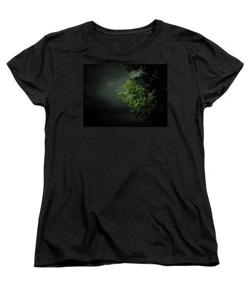 Women's T-Shirt (Standard Cut) featuring the photograph Severe Weather by Cynthia Lassiter