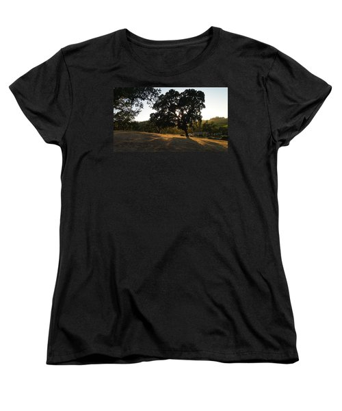 Shade Tree  Women's T-Shirt (Standard Cut) by Shawn Marlow