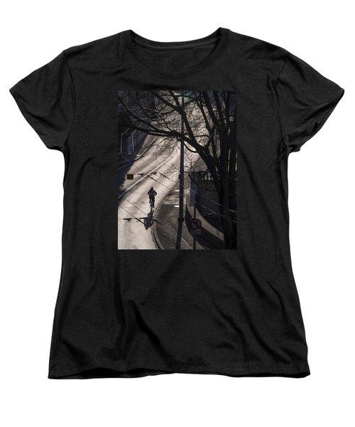Shadow And Light Women's T-Shirt (Standard Cut) by Muhie Kanawati