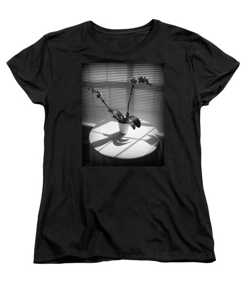 Shadow Patterns Women's T-Shirt (Standard Cut) by Jodie Marie Anne Richardson Traugott          aka jm-ART
