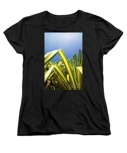 Women's T-Shirt (Standard Cut) featuring the photograph Shape Of Hawaii 9 by Ellen Cotton