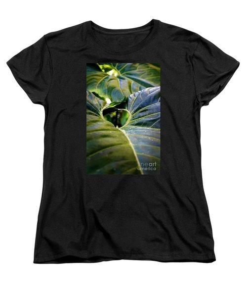 Women's T-Shirt (Standard Cut) featuring the photograph Shapes Of Hawaii 11 by Ellen Cotton