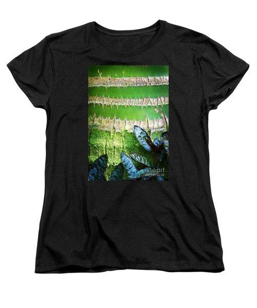 Women's T-Shirt (Standard Cut) featuring the photograph Shapes Of Hawaii 13 by Ellen Cotton