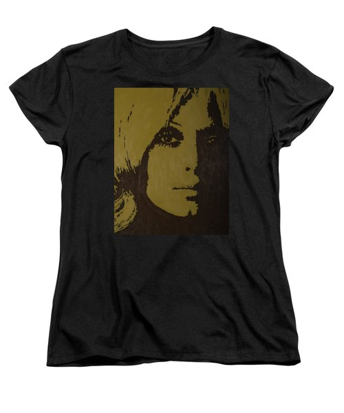 Women's T-Shirt (Standard Cut) featuring the painting Sharon by Darlene Fernald