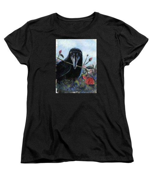 She Loves Me She Loves Me Not Women's T-Shirt (Standard Cut) by Billie Colson