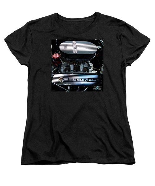 Women's T-Shirt (Standard Cut) featuring the photograph Shelby By Roush by Chris Thomas