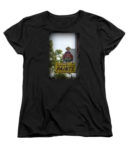 Sherwin Williams Women's T-Shirt (Standard Cut) by Laurie Perry