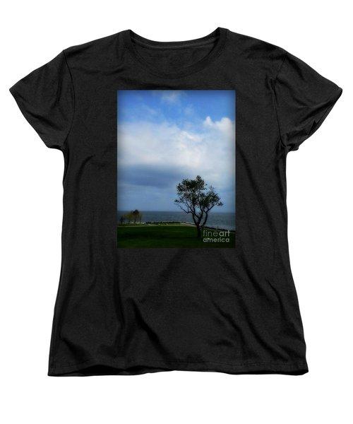 Women's T-Shirt (Standard Cut) featuring the photograph Sherwood Island by Kristine Nora