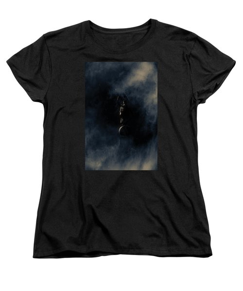 Shine Forth In Darkness Women's T-Shirt (Standard Cut) by Greg Collins