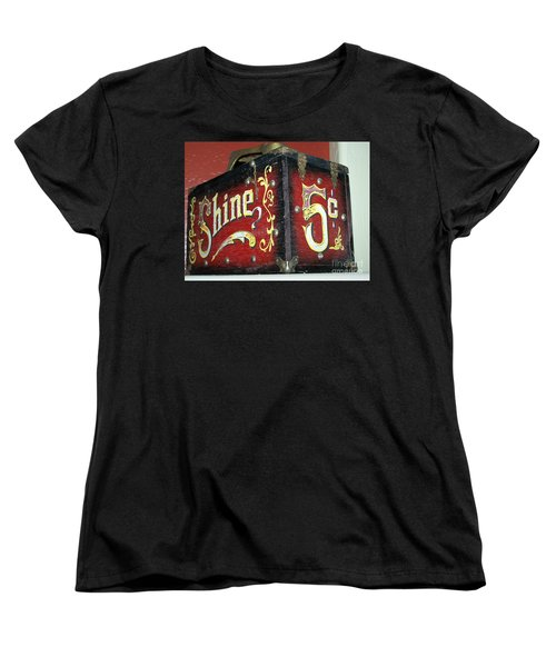 Shoe Shine Kit Women's T-Shirt (Standard Cut)