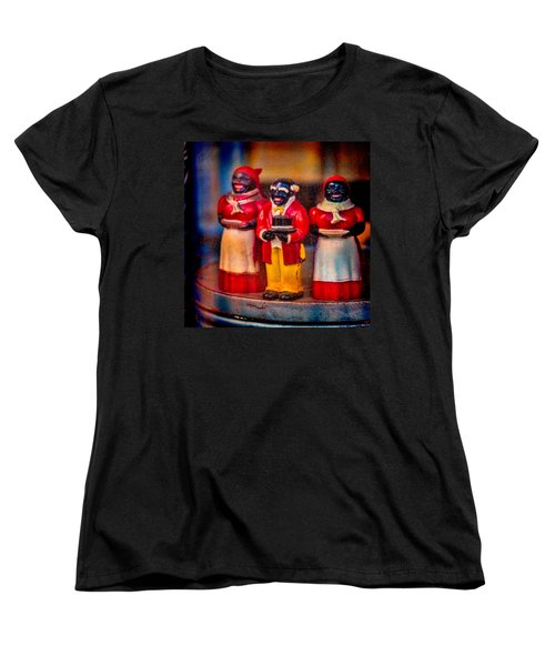Women's T-Shirt (Standard Cut) featuring the photograph Shop Window Trio by Chris Lord