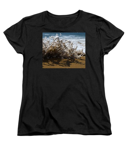 Shorebreak - The Wedge Women's T-Shirt (Standard Cut) by Joe Schofield