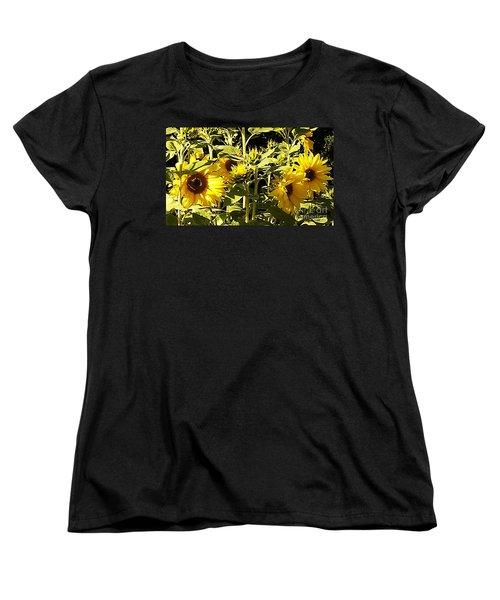 Shout Out Summer Women's T-Shirt (Standard Cut) by Martin Howard