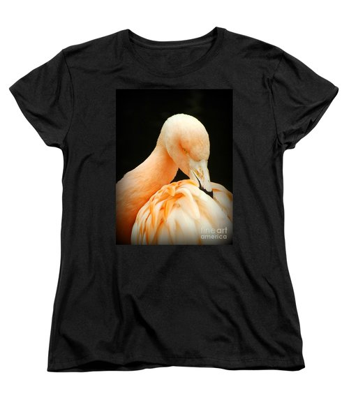 Women's T-Shirt (Standard Cut) featuring the photograph Shy by Clare Bevan