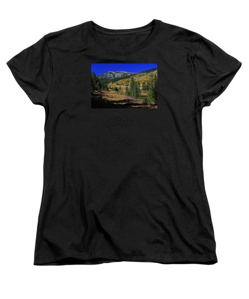 Women's T-Shirt (Standard Cut) featuring the photograph Sierra Fall  by Sean Sarsfield